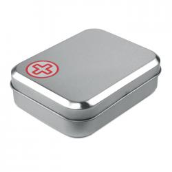 Zestaw pierwszej pomocy w metalowym pudełku -  mo7963-05
