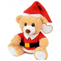 Świąteczny miś z miękkim futerkiem  - 56-0502521