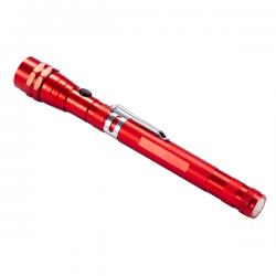 Metalowa wysuwana latarka - R35689