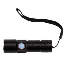Poręczna latarka z diodą CREE 3W o strumieniu światła 100 lumenów - R35695