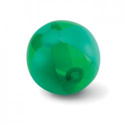 Piłka plażowa z transparentnymi i nietransparentnymi panelami - mo8701
