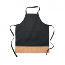 Regulowany fartuch kuchenny z wykończeniem korka - MO9792