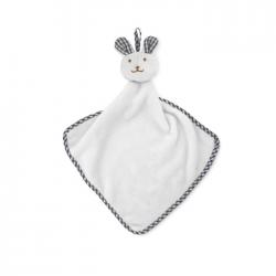 Pluszowy ręcznik dziecięcy z aksamitnego poliestru z królikiem - MO9777