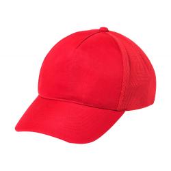 5 panelowa czapka z daszkiem z regulowanym, plastikowym paskiem. - AP781297