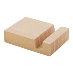 Bambusowy, biurkowy uchwyt na telefon - AP810431