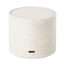 Głośnik bluetooth w ekologicznej obudowie ze słomy pszenicznej - AP721516