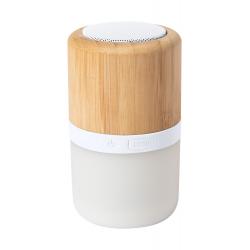 Głośnik bluetooth w bambusowej obudowie z podświetleniem LED - AP721511