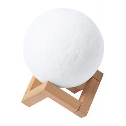 Głośnik bluetooth w kształcie księżyca na drewnianej podstawce - AP721505