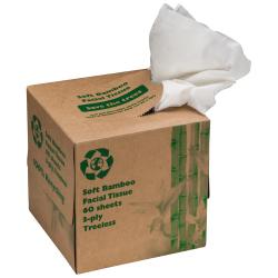 Chusteczki 3-warstwowe  w ekologicznym pudełku - MA 6049201