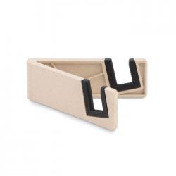 Składany uchwyt na smartfona z włókna bambusowego i ABS - MO9994