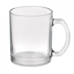 Błyszczący szklany kubek o pojemności 300 ml  - MO6118