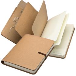 Notes w tekturowej okładce - 2344501