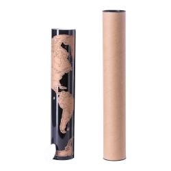 Mapa świata na laminowanym papierze - AP721498