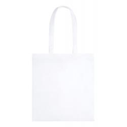Torba z PLA z długimi uchwytami. 100% materiał biodegradowalny  - AP721563