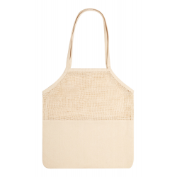 Bawełniana torba na zakupy z siatką, 200 g/m² - AP721574