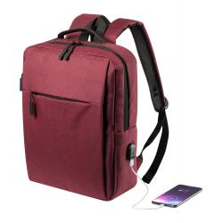 Plecak z zapinanymi przegrodami, wyściełanym miejscem na laptop - AP721558