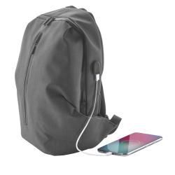 Wodoodporny plecak z wieloma zapinanymi przegrodam z miejscem na laptop - AP819030