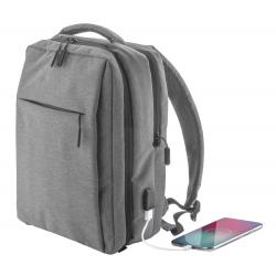 Plecak z wieloma zapinanymi przegrodami, wyściełanym miejscem na laptop (17'') - AP810432