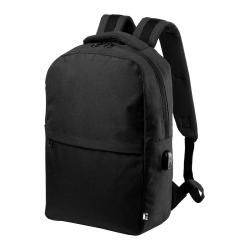 """Plecak z zapinanymi przegrodami, wyściełaną przegrodą na laptopa (15 """") i miejscem na tablet (10"""") - AP721548"""