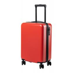 Sztywna, plastikowa walizka na kółkach z 4 podwójnymi kółkami - AP721564