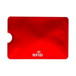 Aluminiowy uchwyt karty kredytowe z jedną przegródką RIFD - AP781749