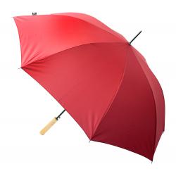 Automatyczny, ekologiczny, wiatroodporny parasol z 8 panelami, drewnianą rączką - AP800731