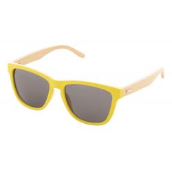 Kolorowe okulary przeciwsłoneczne z bambusowymi zausznikami, UV 400 - AP810428