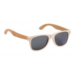 Okulary z plastiku z włókna bambusowego z bambusowymi zausznikam - AP721471