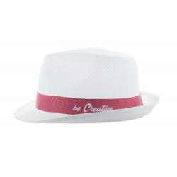 Personalizowana, 30 mm szeroka, poliestrowa tasiemka na kapelusz - AP718367