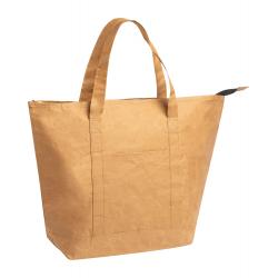 Zapinana, papierowa torba termiczna z aluminiowym wnętrzem - AP721472