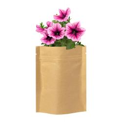 Zestaw do sadzenia kwiatów w laminowanej torebce papierowej - AP721479