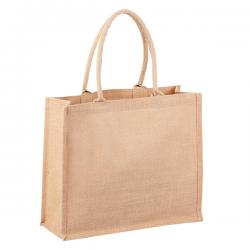Ekologiczna torba na zakupy wykonana z juty - R08507