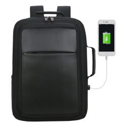"""Wielofunkcyjny plecak/teczka z wbudowaną ochroną RFID na laptop 17"""" i tablet 10"""" - R91842"""
