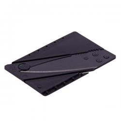 Składany na płasko nóż w kształcie karty kredytowej - R17554