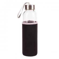 Szczelna butelka o pojemności 500 ml wykonana ze szkła hartowanego - R08276