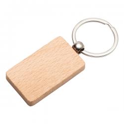 Drewniany brelok pakowany w czarne pudełko upominkow - R73178