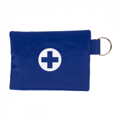 Apteczka podręczna zawierająca podstawowe artykuły niezbędne do udzielenia pierwszej pomocy - R17737