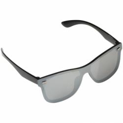 Okulary przeciwsłoneczne o klasycznym designie z lustrzanymi szkłami - 5142703