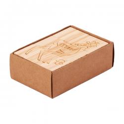 Drewniana edukacyjna układanka - R08834