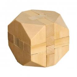 Wykonana z drewna układanka logiczna - R08820