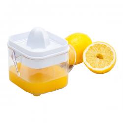 Pojemnik z wyciskarką do pomarańczy oraz wyciskarką do cytryn o całkowitej pojemności 600 ml - R08280