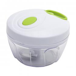 Kompaktowy pojemnik z nożykami do szatkowania warzyw i ziół - R08281