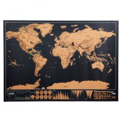 Mapa świata-zdrapka - R08861