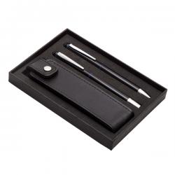 Zestaw piśmienniczy z długopisem i piórem kulkowym - R01071