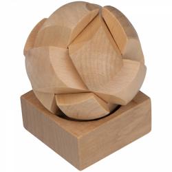 Puzzle przestrzenne wykonane z drewna - 5098813