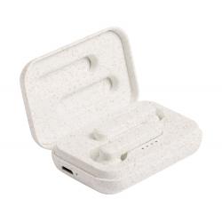 Słuchawki bluetooth z ekologicznego plastiku ze słomy pszenicznej z funkcją rozmów telefonicznych - AP721734