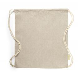 Worek ze sznurkami, 100% bawełna z recyklingu. 120 g/m2 - AP721610