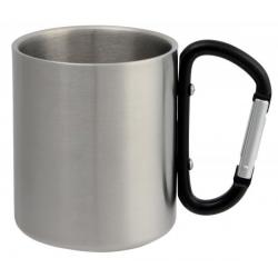 Metalowy kubek 200 ml - 56-0603141
