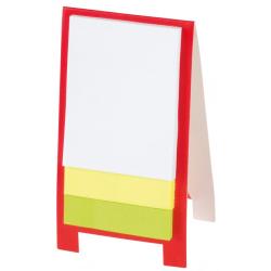Mini stojak na notatki z 1 bloczkiem karteczek samoprzylepnych - 56-1103293
