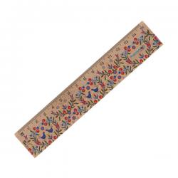 Linijka drewniana 15 cm